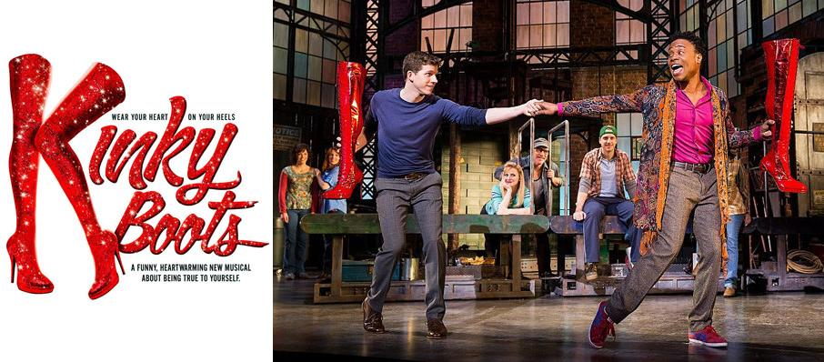 Kinky Boots at Crouse Hinds Theater