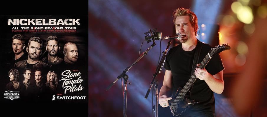 Nickelback at St. Josephs Health Amphitheater at Lakeview