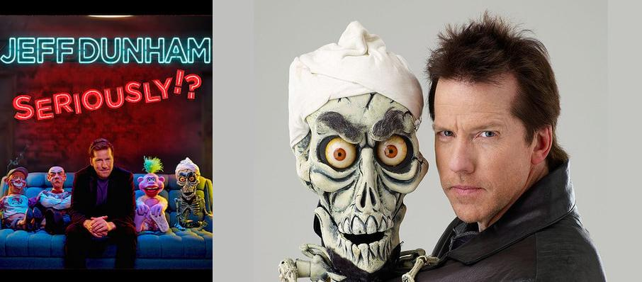 Jeff Dunham at War Memorial Arena At Oncenter