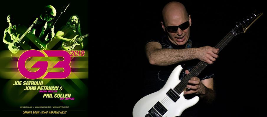 G3 - Joe Satriani, John Petrucci and Phil Collen at Landmark Theatre