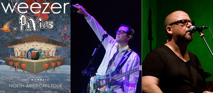 Weezer and Pixies at Lakeview Amphitheater