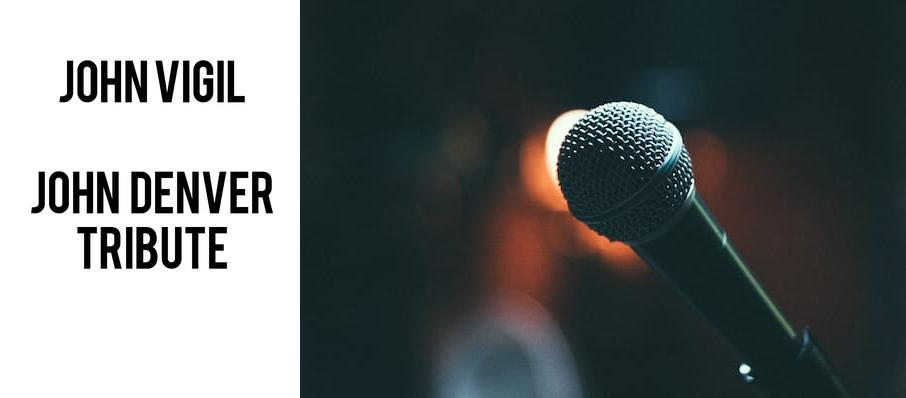 Ted Vigil - John Denver Tribute at Cortland Repertory Theatre