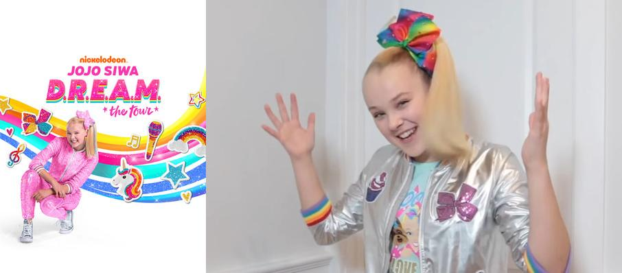 Jojo Siwa at War Memorial Arena At Oncenter