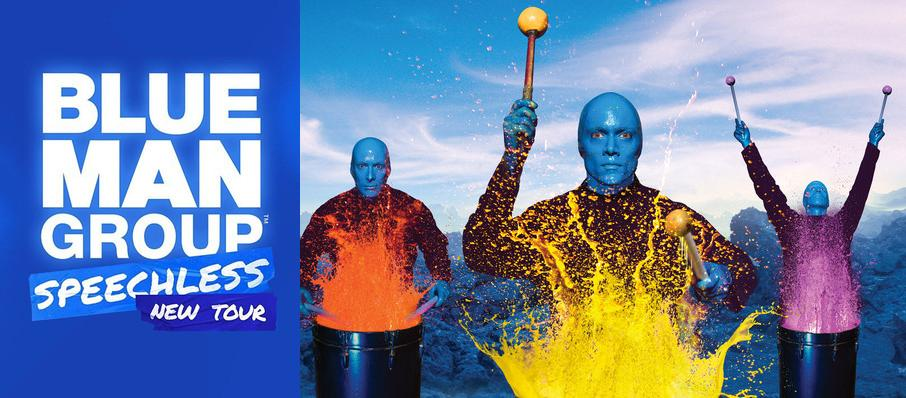 Blue Man Group at Landmark Theatre