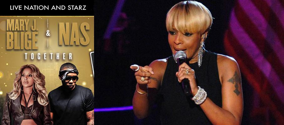 Mary J Blige and Nas at St. Josephs Health Amphitheater at Lakeview