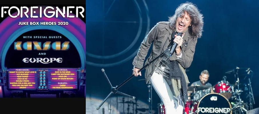 Foreigner with Kansas at St. Josephs Health Amphitheater at Lakeview