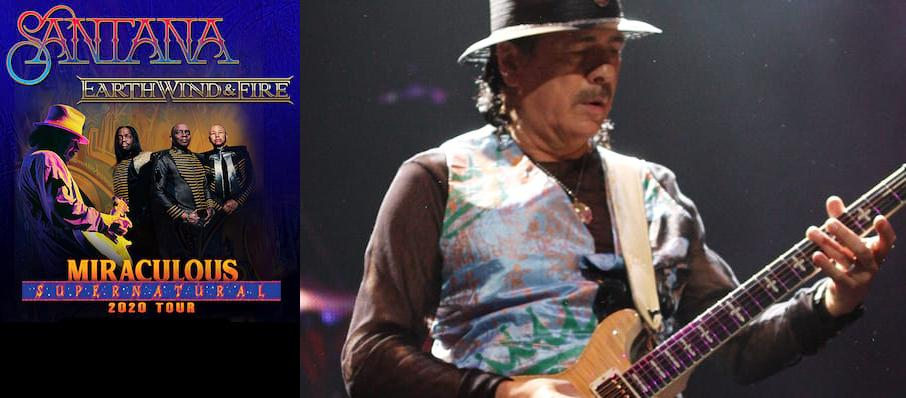 Santana with Earth Wind and Fire at St. Josephs Health Amphitheater at Lakeview