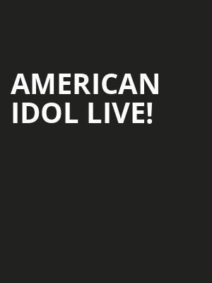 American Idol Live Tickets Calendar Nov 2018 Crouse Hinds