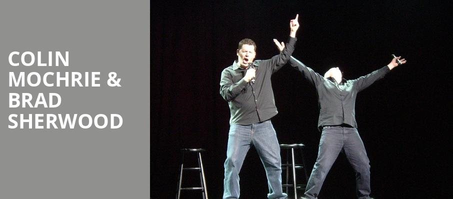 Colin Mochrie Brad Sherwood, Crouse Hinds Theater, Syracuse