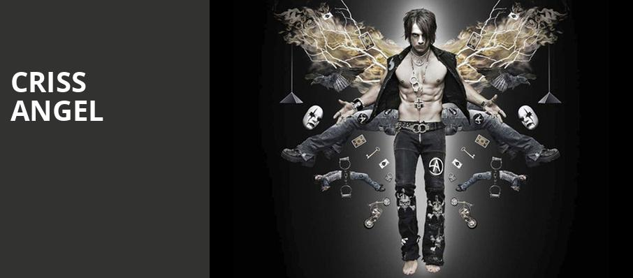 Criss Angel, Crouse Hinds Theater, Syracuse