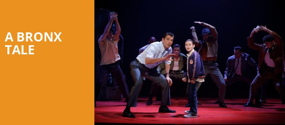 A Bronx Tale, Crouse Hinds Theater, Syracuse
