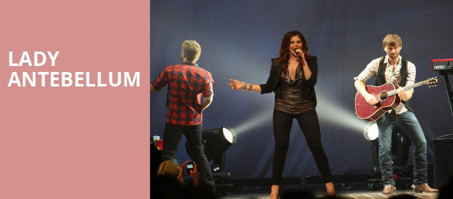 Lady Antebellum, St Josephs Health Amphitheater at Lakeview, Syracuse