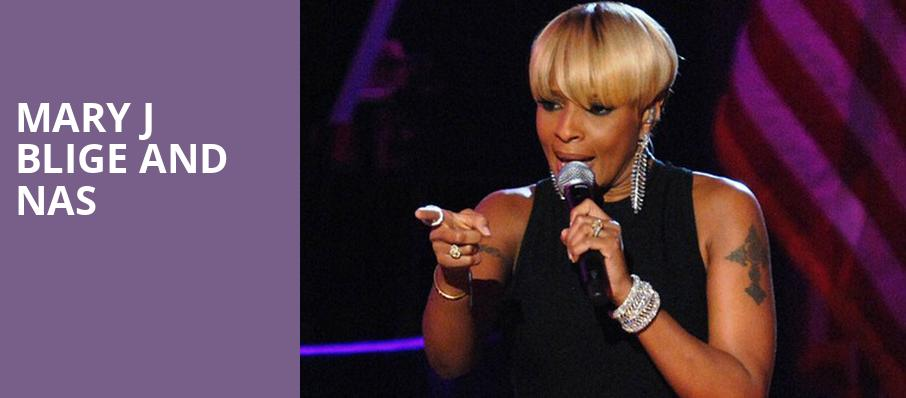 Mary J Blige and Nas, St Josephs Health Amphitheater at Lakeview, Syracuse
