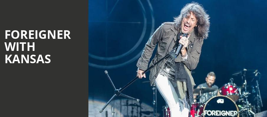 Foreigner with Kansas, St Josephs Health Amphitheater at Lakeview, Syracuse