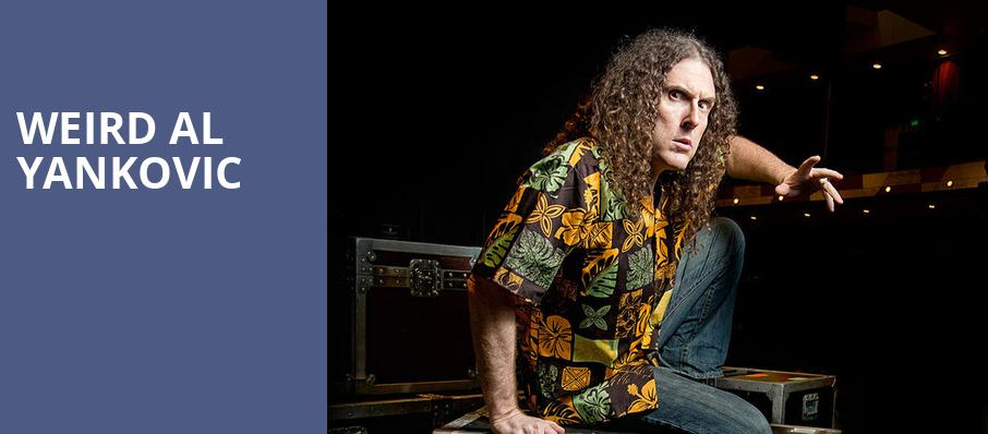 Weird Al Yankovic, Landmark Theatre, Syracuse