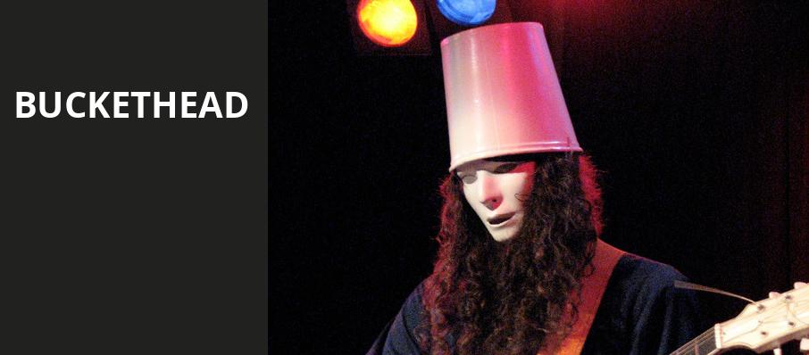 Buckethead, The Westcott Theatre, Syracuse