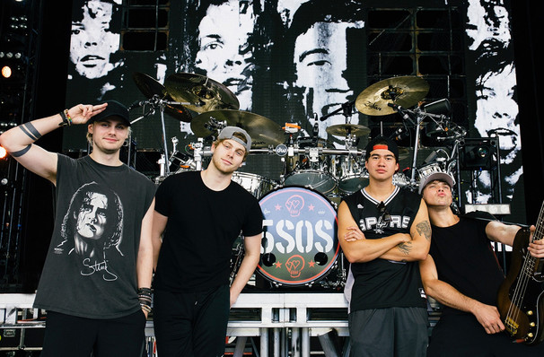 5 Seconds of Summer, Lakeview Amphitheater, Syracuse