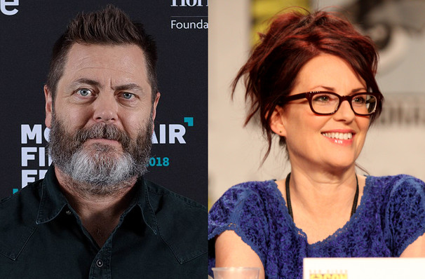 Nick Offerman Megan Mullally, Crouse Hinds Theater, Syracuse
