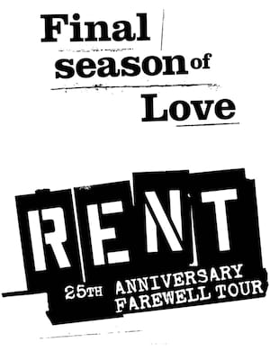 Rent, Crouse Hinds Theater, Syracuse