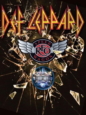 Def Leppard REO Speedwagon Tesla, Lakeview Amphitheater, Syracuse